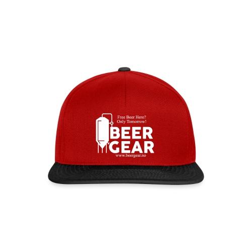 Beer Gear free Beer White - Snapback-caps