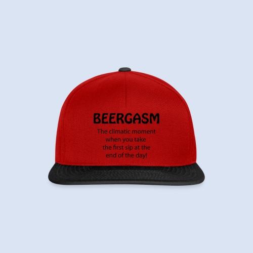 Beergasm - All about Beer - Snapback Cap
