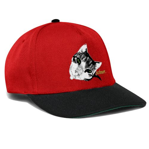 Katze schnurr - Snapback Cap