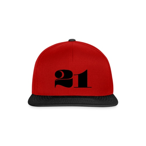 21 - TWENTY ONE - Snapback Cap