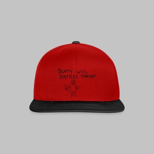 buffy's patrol - Snapback Cap