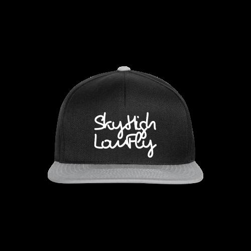 SkyHighLowFly - Men's Sweater - White - Snapback Cap
