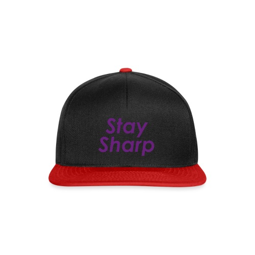 Stay Sharp - Snapback Cap
