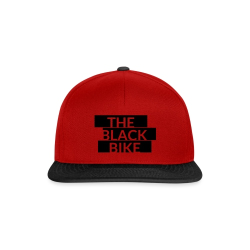 THE BLACK BIKE - Casquette snapback