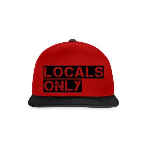 Locals Only - Snapback Cap