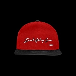 Don't Get up Son - Conor McGregor Tribute - Snapback Cap