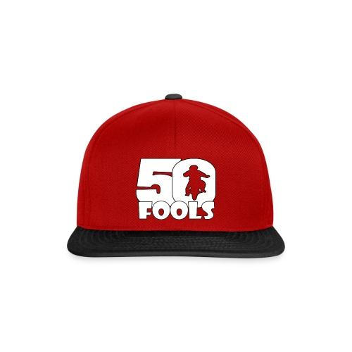 50FOOLSLOGOSPREADSHIRT png - Snapback cap
