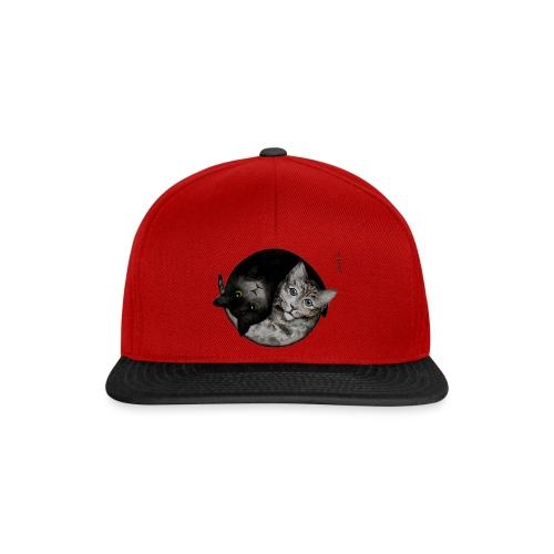 David Pucher Art Katze - Snapback Cap