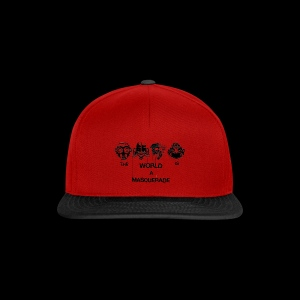 The World is a Masqeurade - Snapback Cap