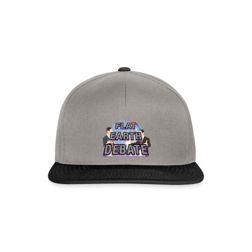 Flat Earth Debate - Snapback Cap