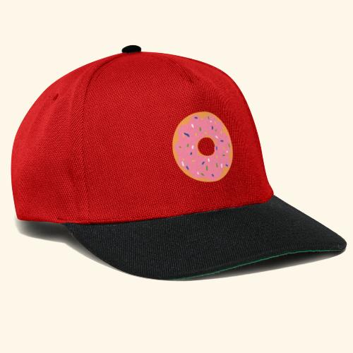 Donut-Shirt - Snapback Cap