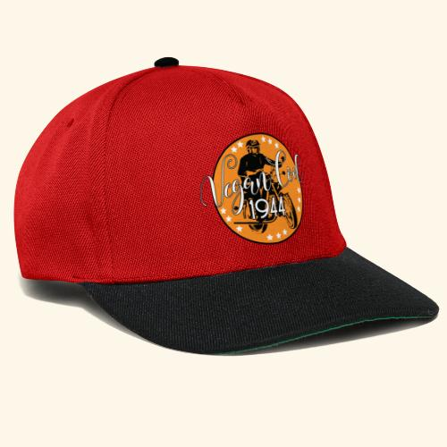 Vegan Cool Vintage Bike Club - Snapback Cap