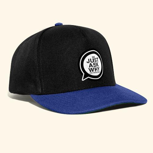 WE JUST ASK WHY - The Vegan Mind - Snapback Cap
