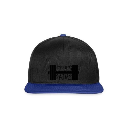 Weight + Text - Snapback Cap