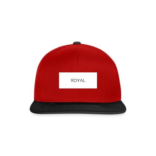 Royal - Snapback Cap