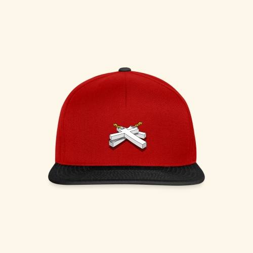 Gold Crosses - Snapback Cap