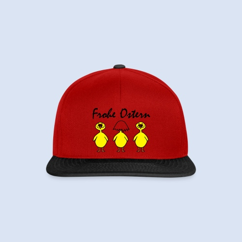 Frohe Ostern Happy Easter - Snapback Cap