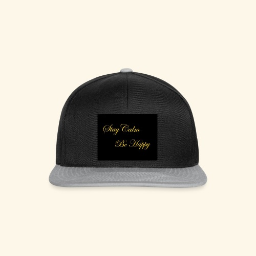 Be Happy - Casquette snapback