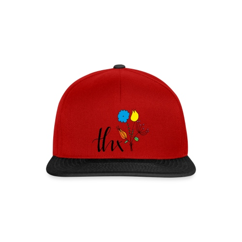 THX Floral - Snapback Cap