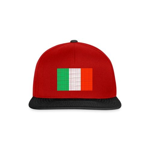 italian flag - Snapback Cap