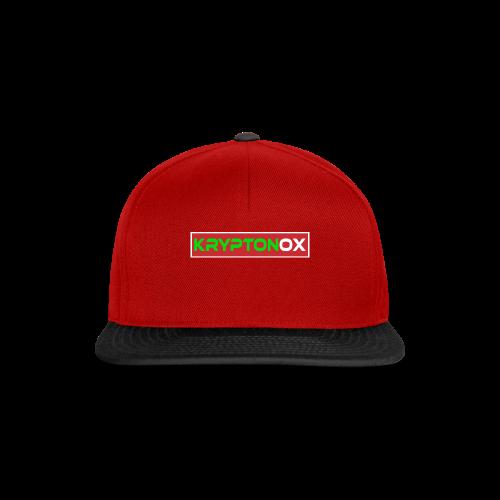 Kryptonox Logo - Snapback Cap