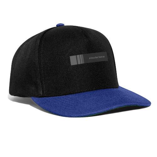 Oldschool house wear - Snapback Cap