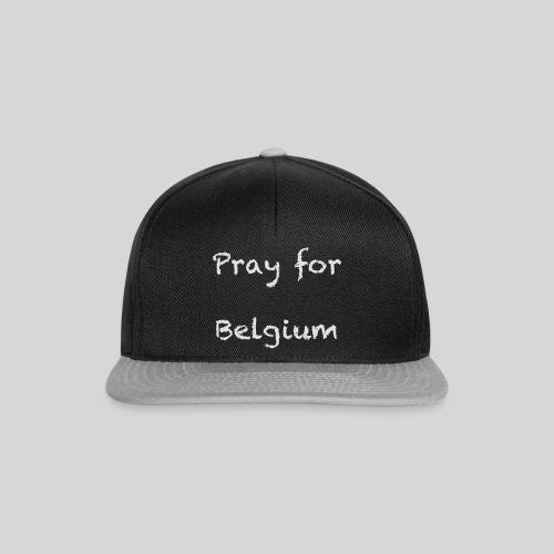 Pray for Belgium - Casquette snapback