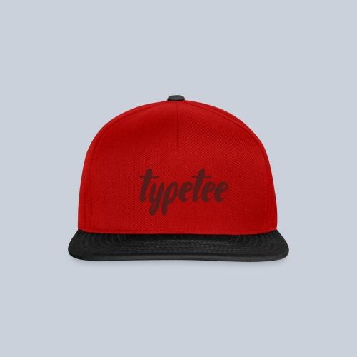 logotypeteebig - Snapback cap