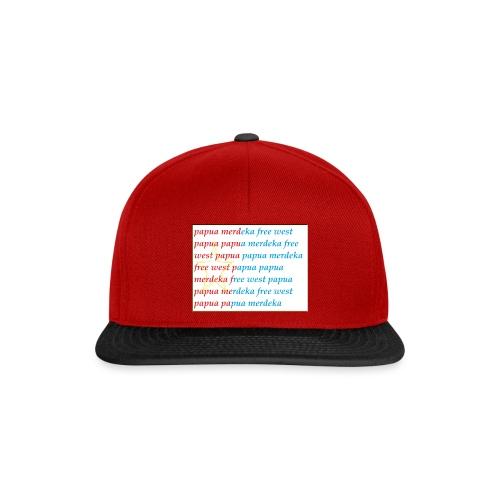 free west papua - Snapback cap