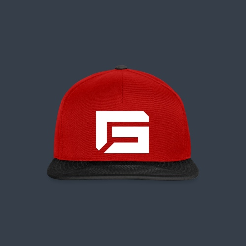 G Logo White - Snapback cap