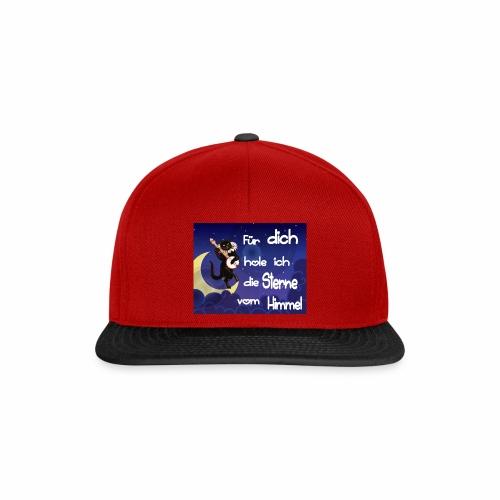 Katze - Für dich hole ich die Sterne vom Himmel - Snapback Cap