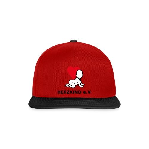 Herzkind Logo Wort Bildmarke ohne Unterzeile PFADE - Snapback Cap