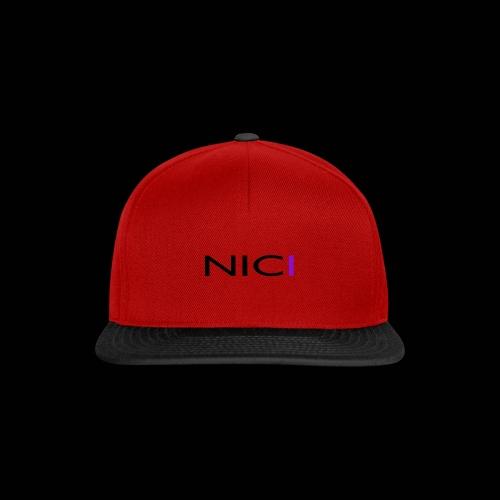 NICI logo Black - Snapback Cap