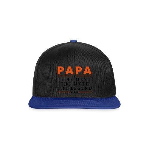 PAPA THE LEGEND - Snapback Cap