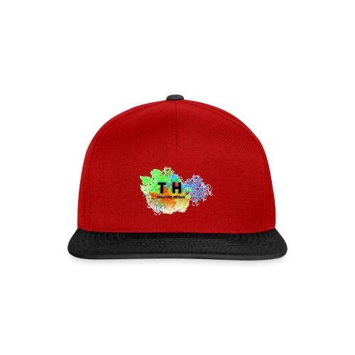 TH CREATIV DESIGN LOGO - Snapback Cap
