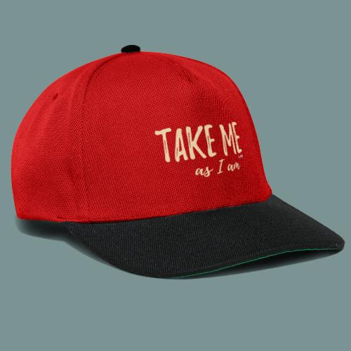 Take me! by pEMIEL - Snapback cap