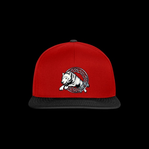 Leaping Wolf - Snapback Cap