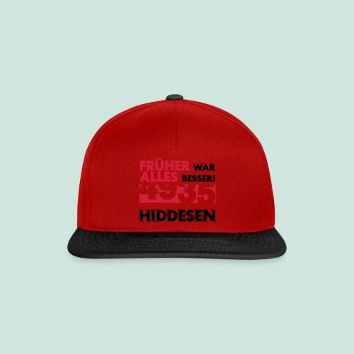 Früher 4935 Hiddesen - Snapback Cap