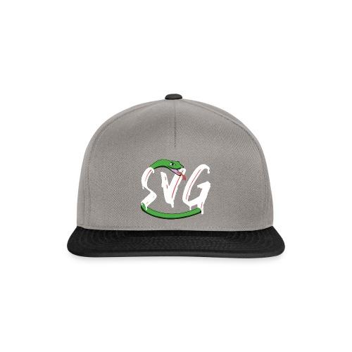 Savage Snake White - Snapback cap
