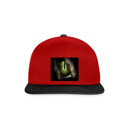 ReptilianEye - Snapback Cap