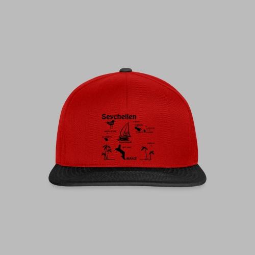 Seychellen Insel Crewshirt Mahe etc. - Snapback Cap