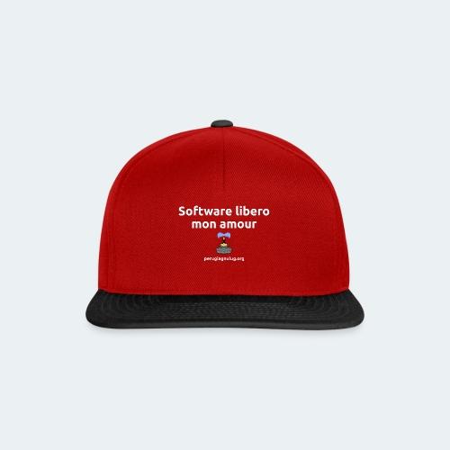 Software libero mon amour - Snapback Cap