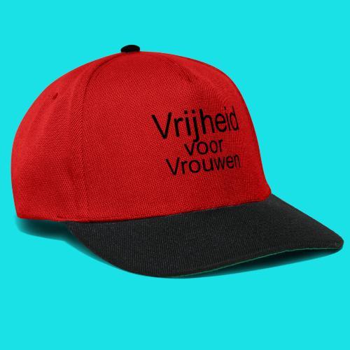 Vrijheid voor vrouwen - Snapback cap