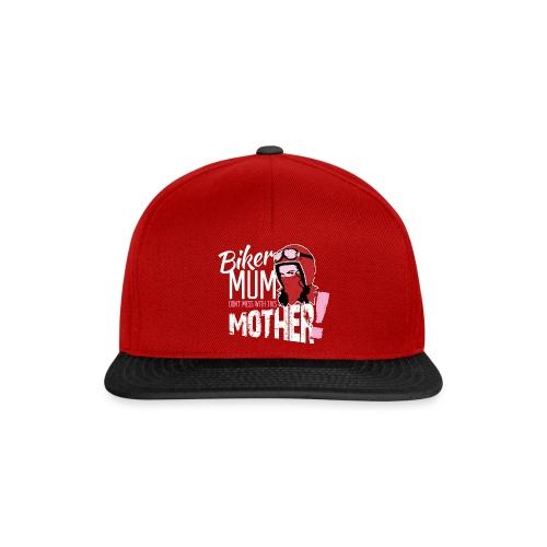Biker Mum T-Shirt - Snapback Cap