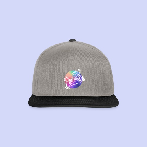 pastel rainbow, NuniDK Collection - Female top - Snapback Cap