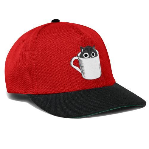 Katze in Tasse - Snapback Cap