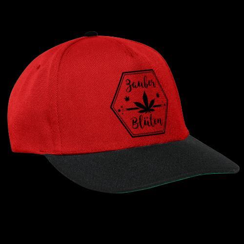 Zauber - Blüten Logo Designe - Snapback Cap
