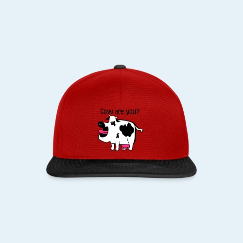 Cow are you? - Gorra Snapback