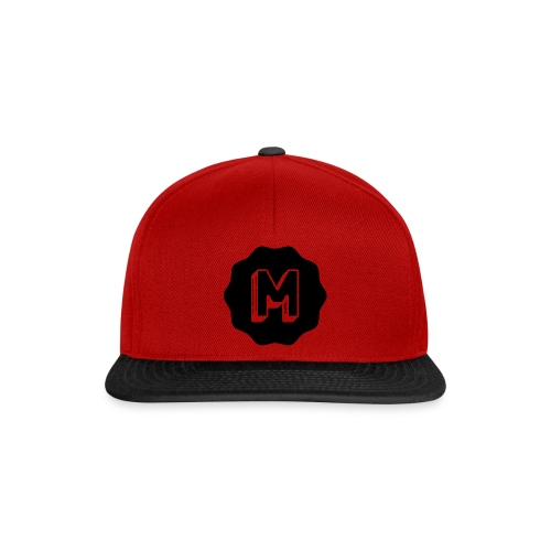 Messiosen symbol sort - Snapback-caps