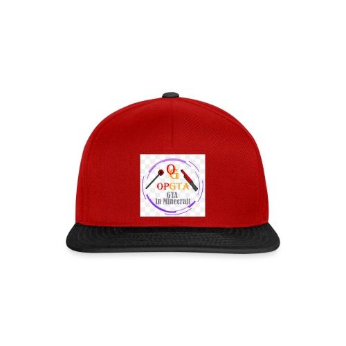 opgta logo - Snapback Cap